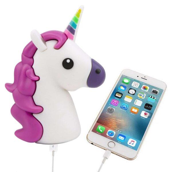 Batterie externe licorne iphone apple