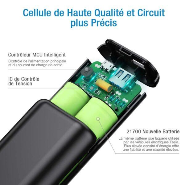 Batterie externe pour smartphone pas cher circuit haut qualité
