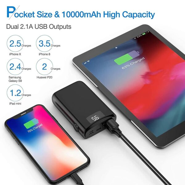 Batterie externe power bank pas cher petite taille