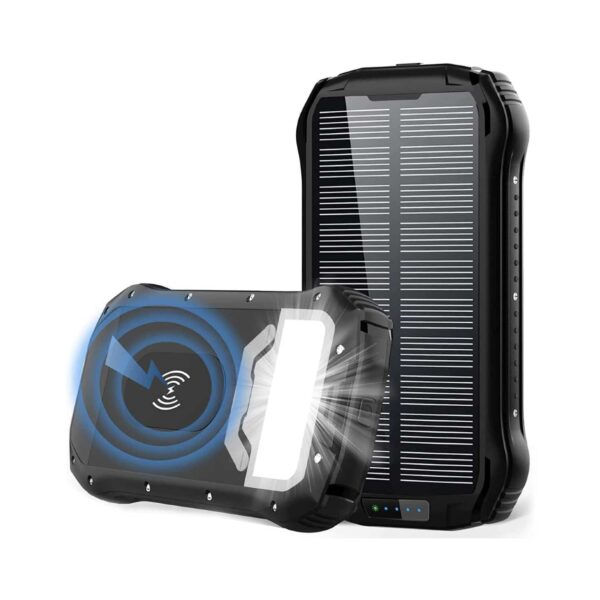 Batterie externe rechargeable solaire