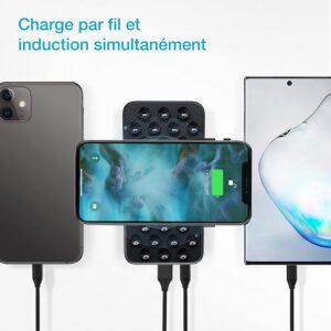 Batterie externe sans fil iPhone 7 apple et android