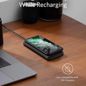 Batterie externe sans fil iPhone charge induction