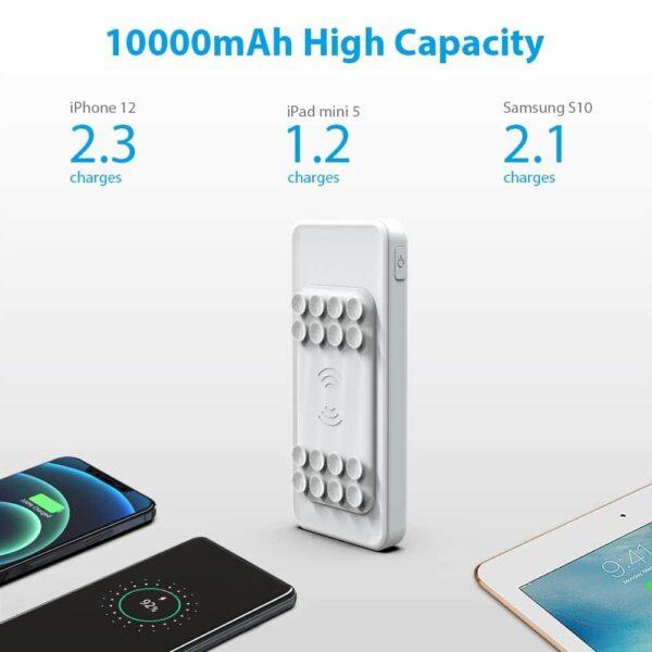 Batterie externe sans fil samsung 10A 10000mAh