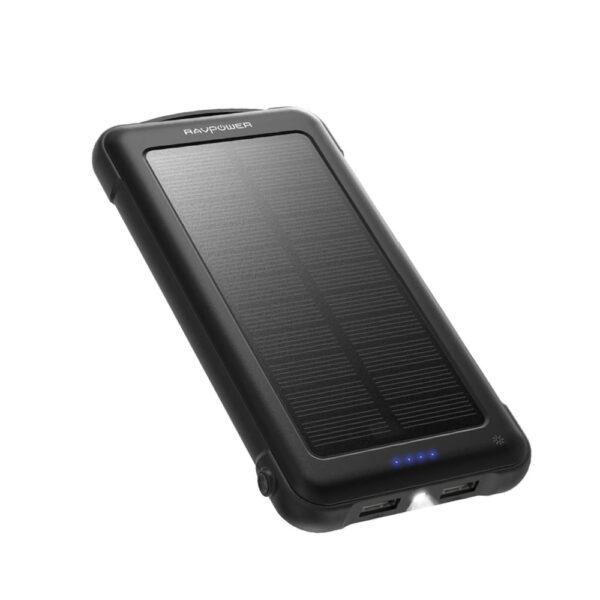 Batterie externe solaire 10000mAh RAVPOWER