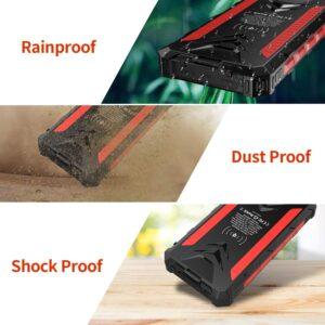 Batterie externe solaire 30000mAh DG resistant