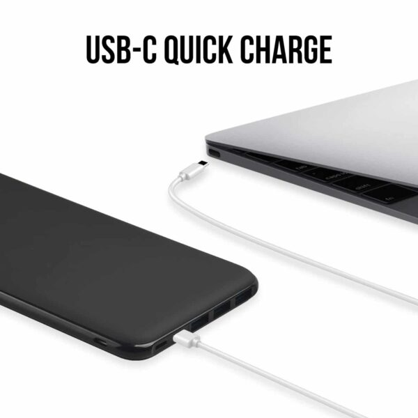 Batterie externe usb c quick charge macbook