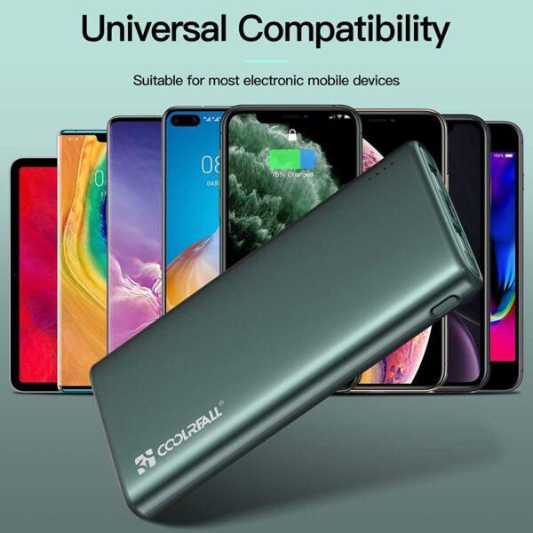 batterie externe 10000mAh charge rapide grande compatibilité