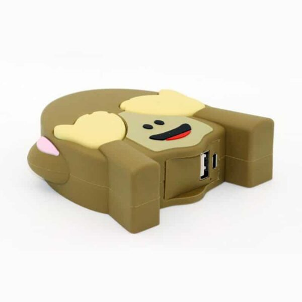 batterie-externe-8800-mah-emoji-singe port usb