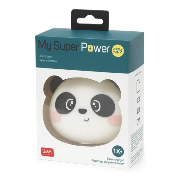 batterie externe emoji panda 2600mAh