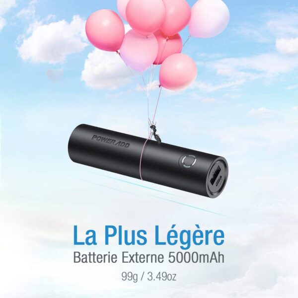 batterie externe pas cher du tout légère