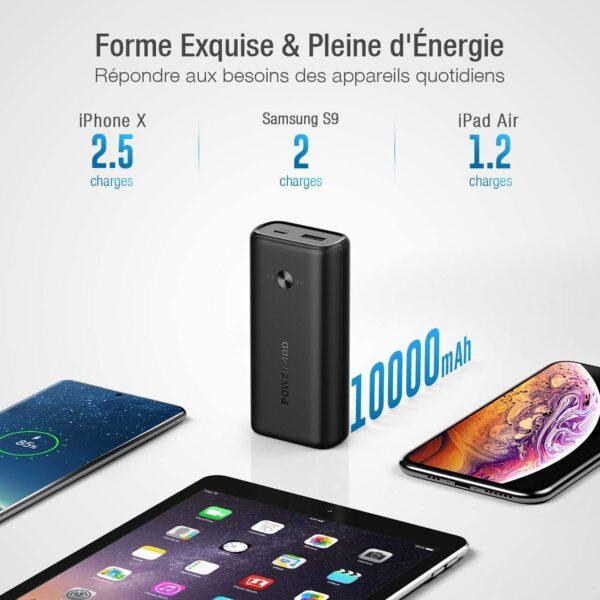 batterie externe pas cher iphone capacité