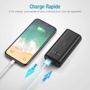batterie externe pas cher iphone charge rapide