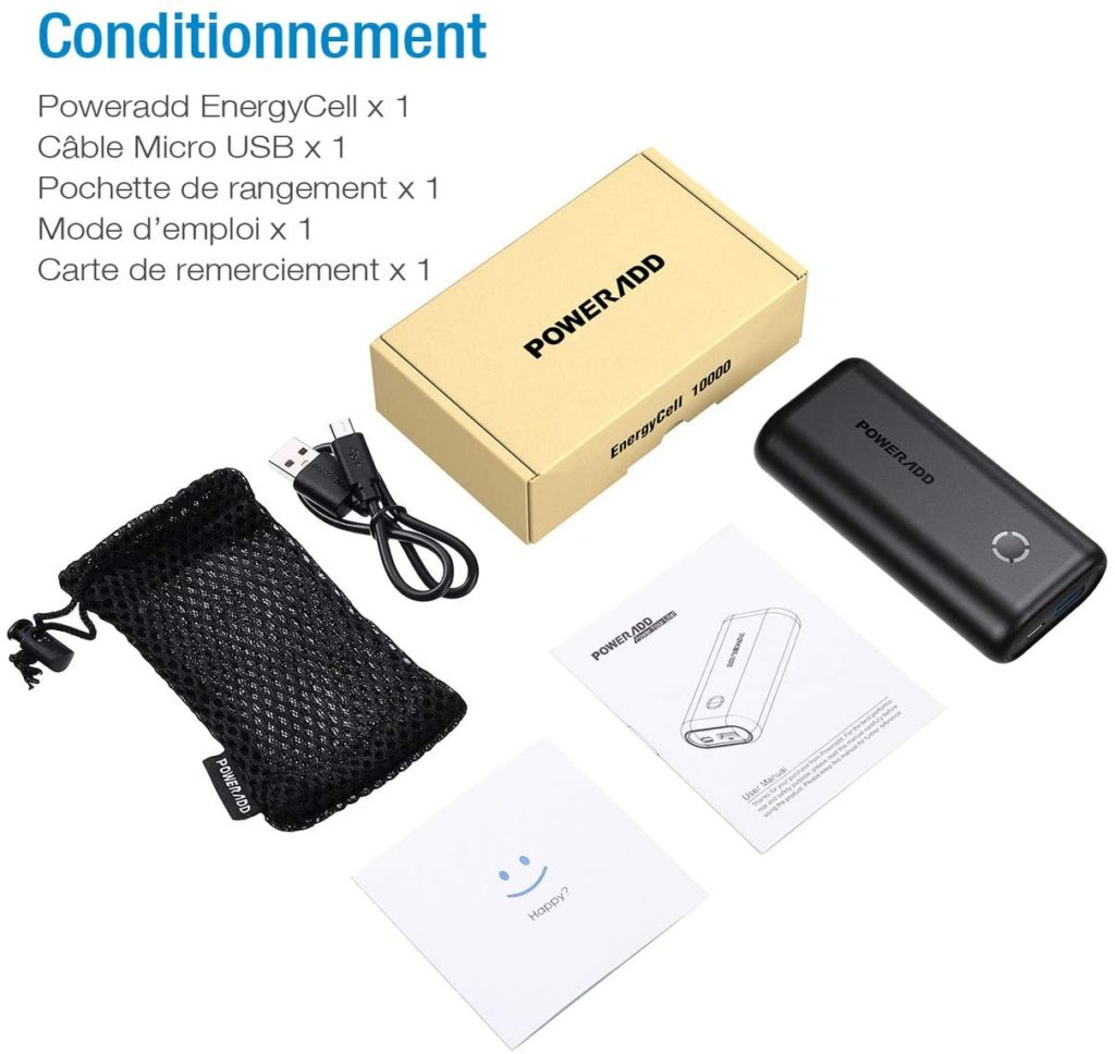 batterie externe pour smartphone pas cher accessoires