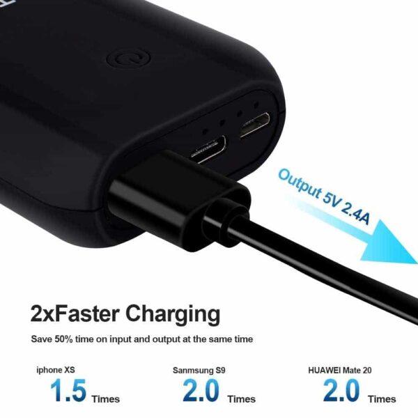 Batterie externe 10000mAh Compacte et puissante