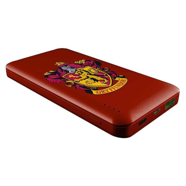 Batterie externe 10000mAh Harry Potter team gryffondor