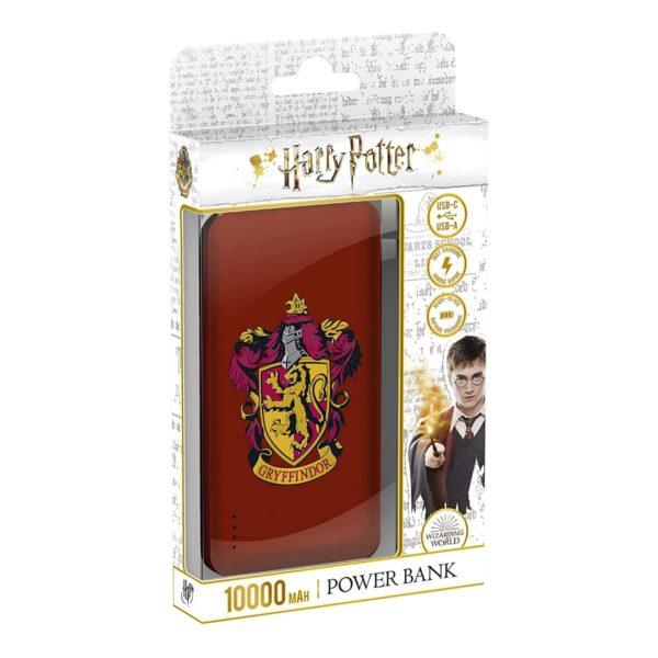 Batterie externe 10000mAh Harry Potter emballage