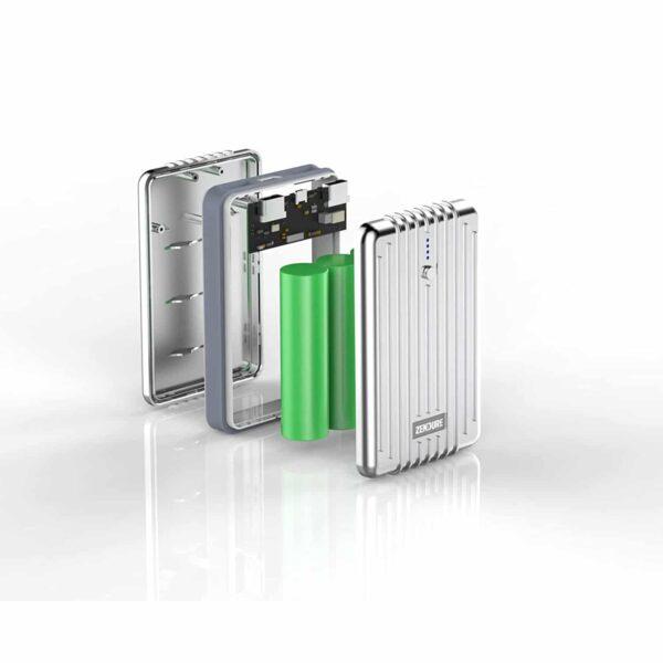 Batterie externe 10000mAh Zendure matériaux qui la compose