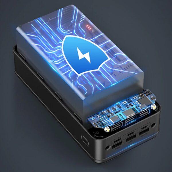 Batterie externe 50000mAh charge rapide securité