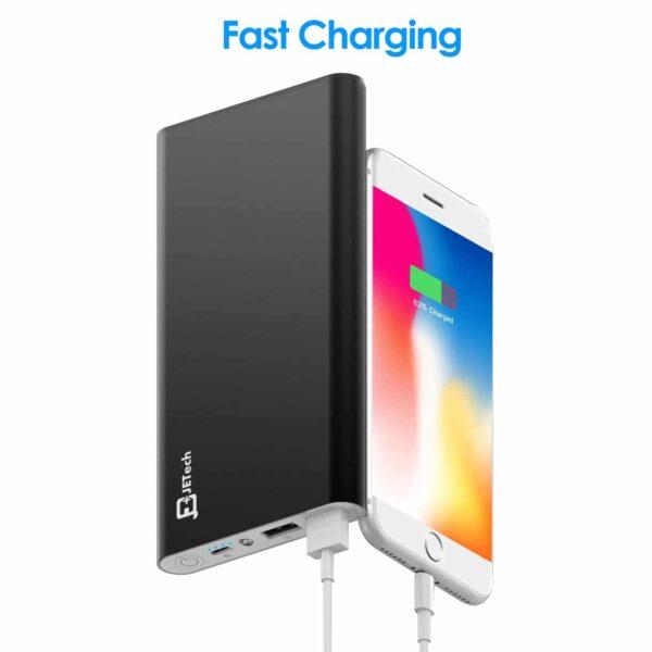 Batterie externe Jetech charge rapide