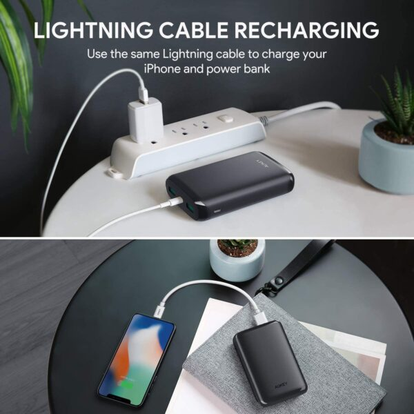 Batterie externe Lightning charge iPhone