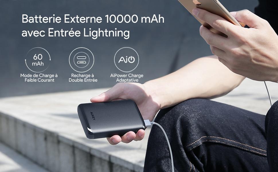 Batterie externe Lightning présenation