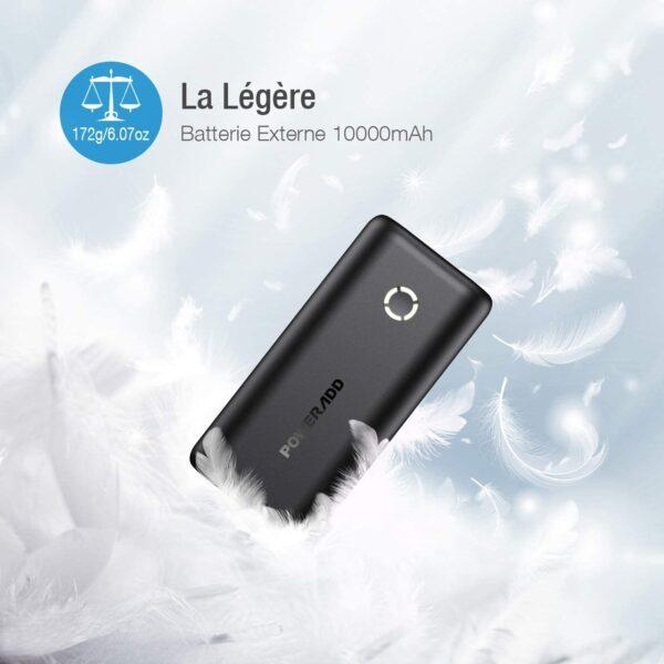 Batterie externe Ultra Légère 170 grammes