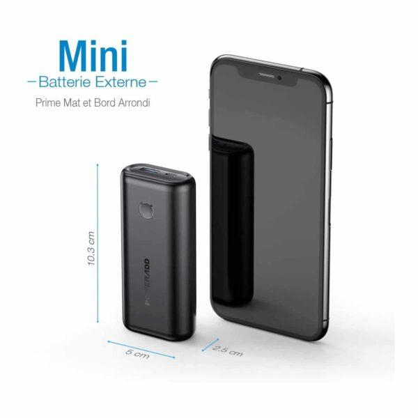 Batterie externe Ultra Légère Mini