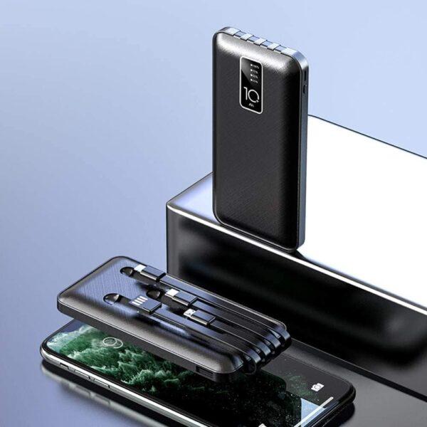 Batterie externe avec câble intégré power bank