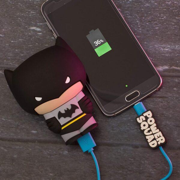 Batterie externe originale Batman charge samsung