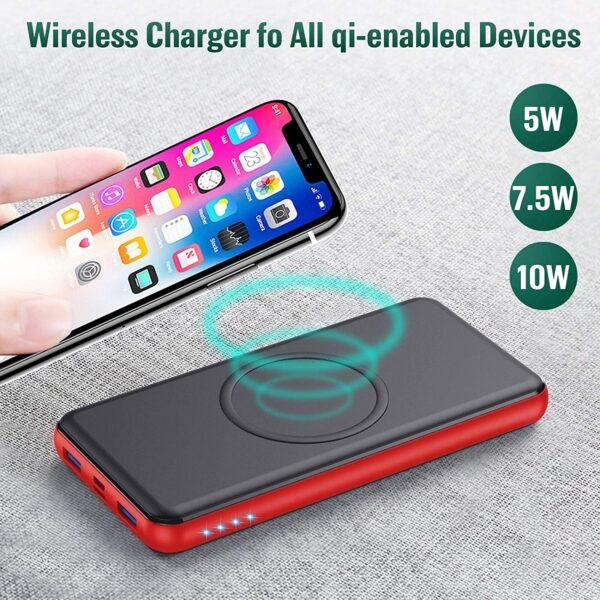 Batterie externe sans fil Samsuing S10 charge induction