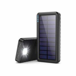 Batterie de secours solaire avec lumiere LED