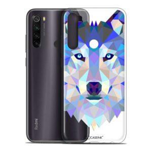 Coque Redmi Note 8T Loup caseink