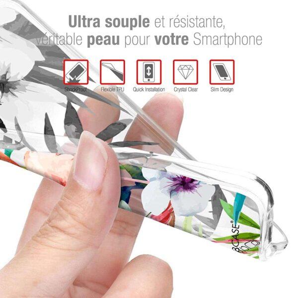 Coque Redmi Note 8T Loup souple et résistante