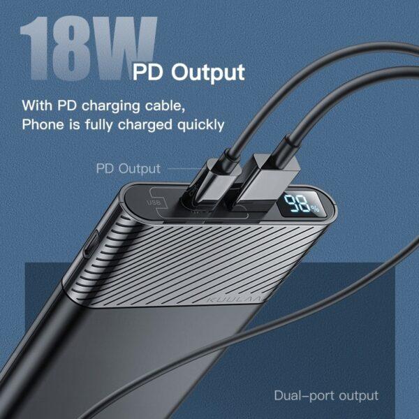 batterie externe 10000mAh legere power delivery