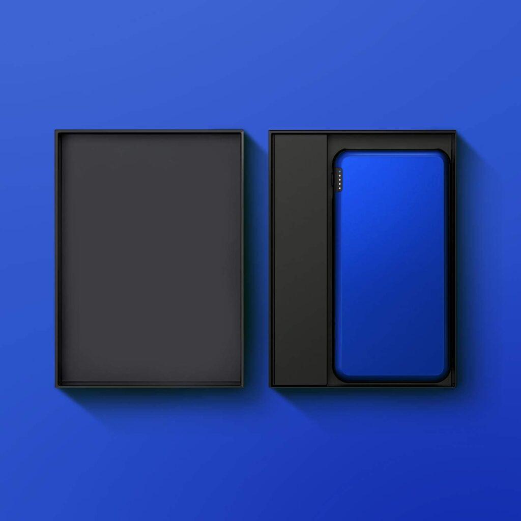 Batterie externe Bleu emballage
