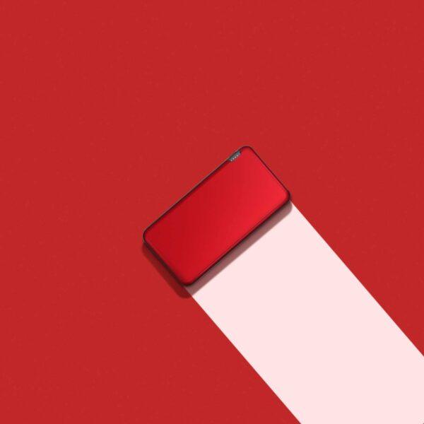 Batterie externe Rouge batterie de secours