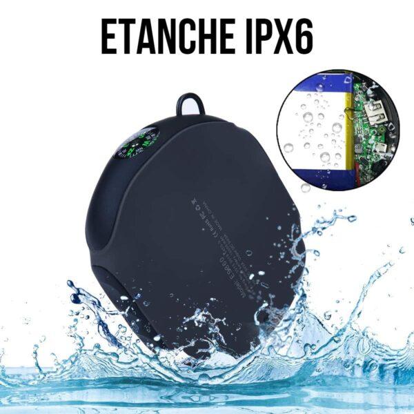 Batterie externe étanche IPX6