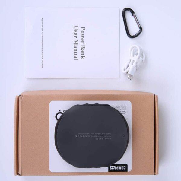 Batterie externe étanche contenu de l'emballage
