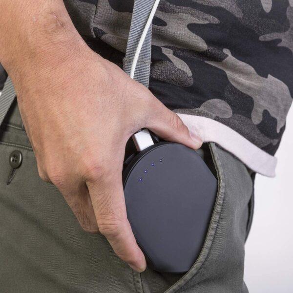 Batterie externe étanche rentre facilement dans une poche