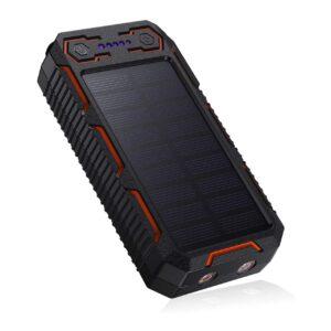 Batterie externe solaire Poweradd