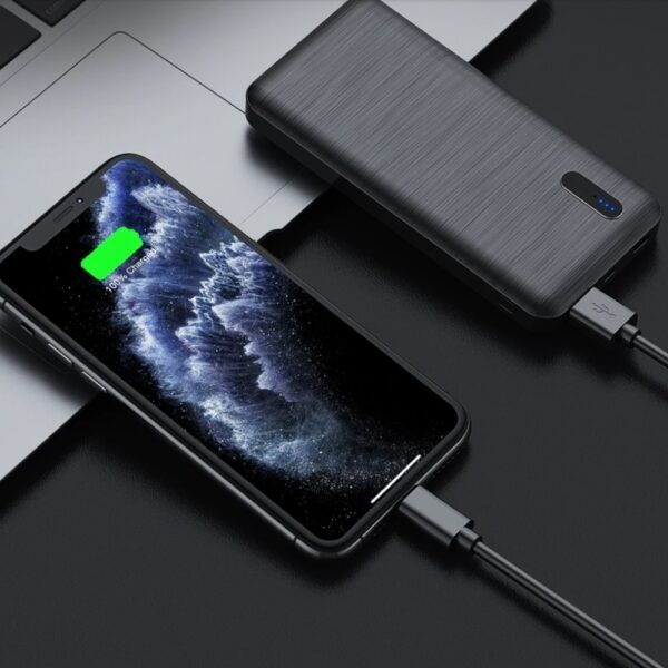 Batterie externe 10000mAh YKZ charge iphone