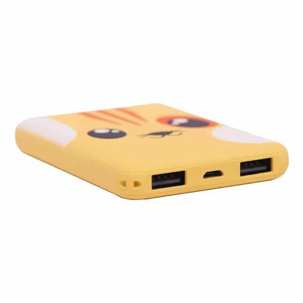 Batterie externe originale chat ports USB
