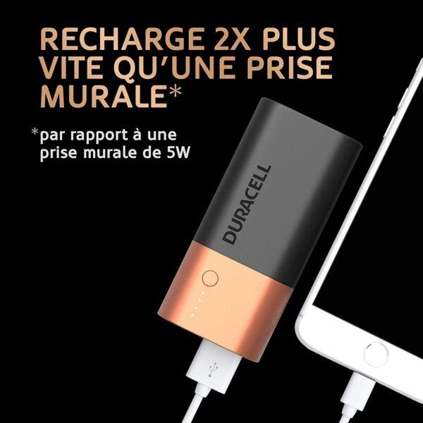 Batterie externe originale pile charge 2 fois plus vite