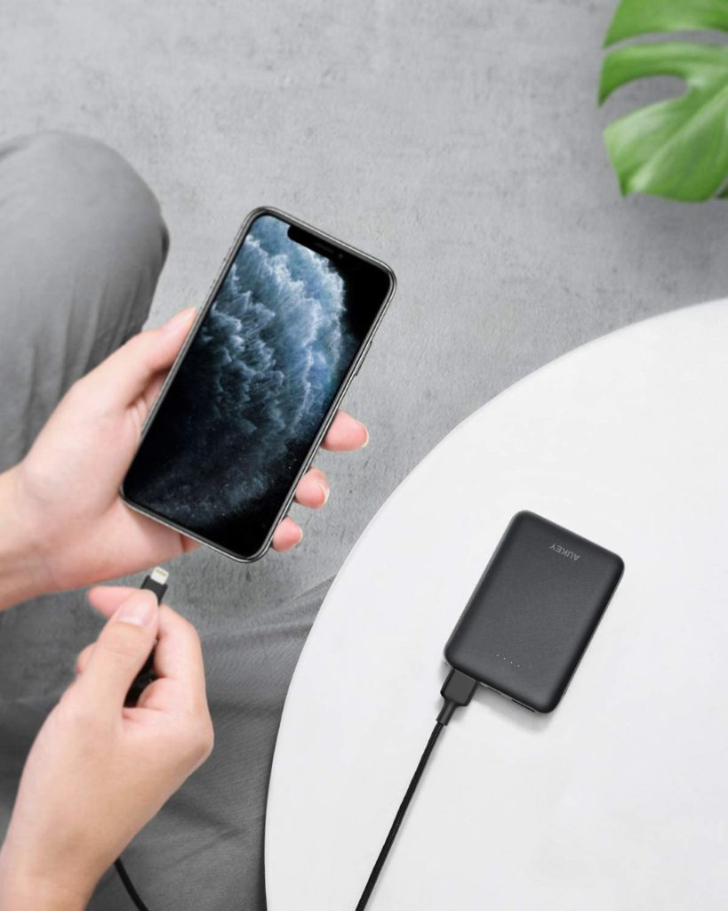 Batterie externe 10000mAh 3 ports USB charge iPhone