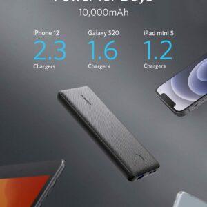Batterie externe 10000mAh Anker Slim grande capacité