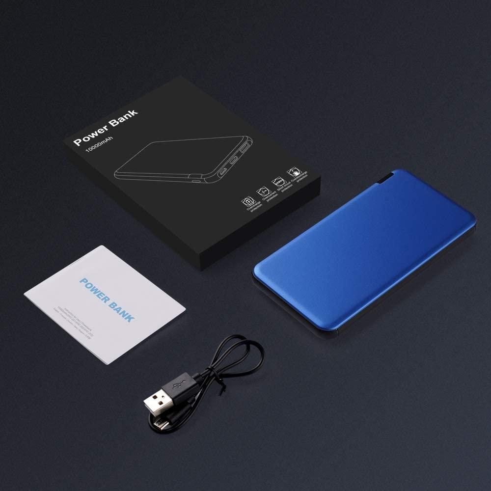 Batterie externe 10000mAh Fine câble USB