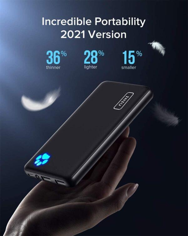 Batterie externe 10000mAh INIU légère