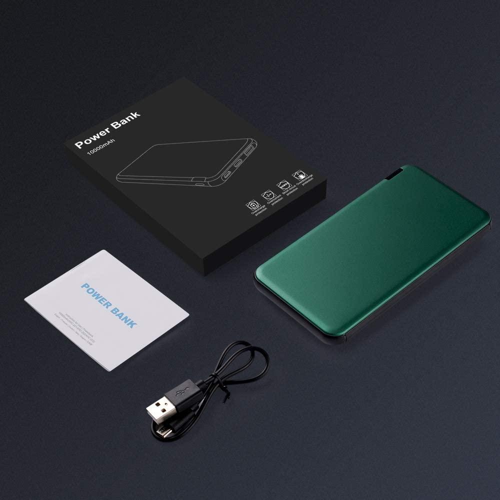 Batterie externe 10000mAh Ockered Verte accessoires