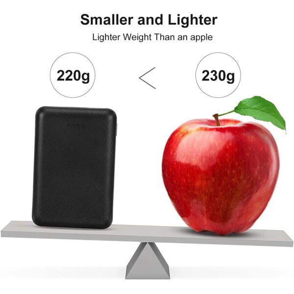 Batterie externe 10000mAh Posugear plus légère qu'une pomme