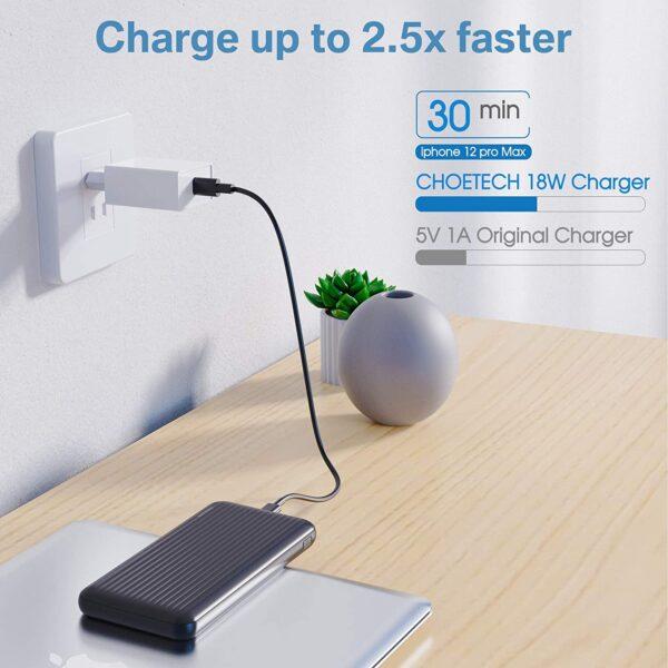 Batterie externe 10000mAh Undreem charge rapide